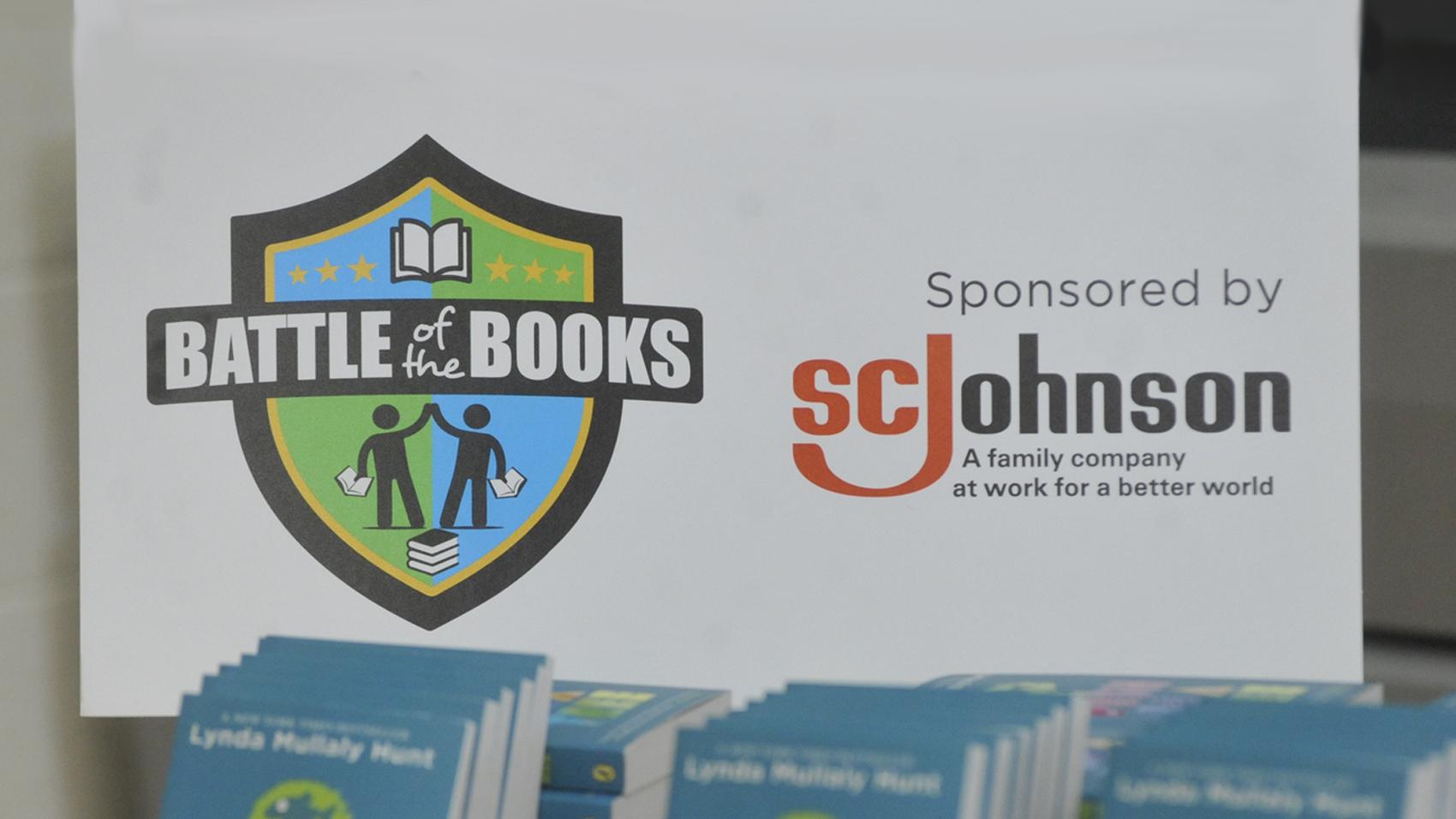 Battle of the Books sponsored by SC Johnson