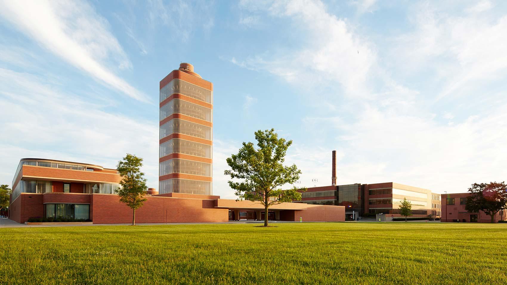 SC Johnson headquarters campus in Racine, Wisconsin