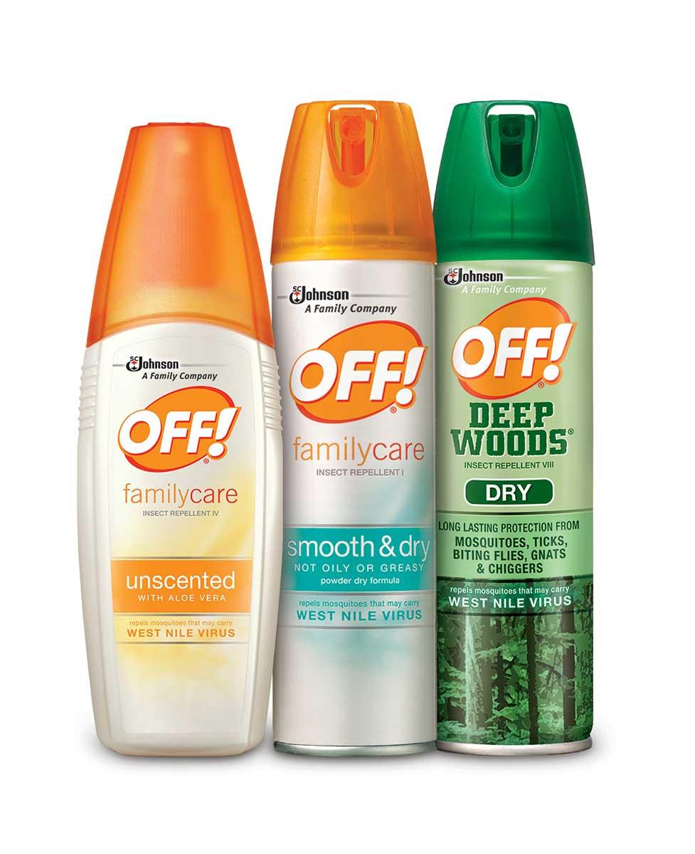OFF!® Personal Repellents