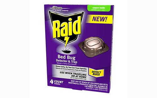 Raid Bed Bug Detector and Trap