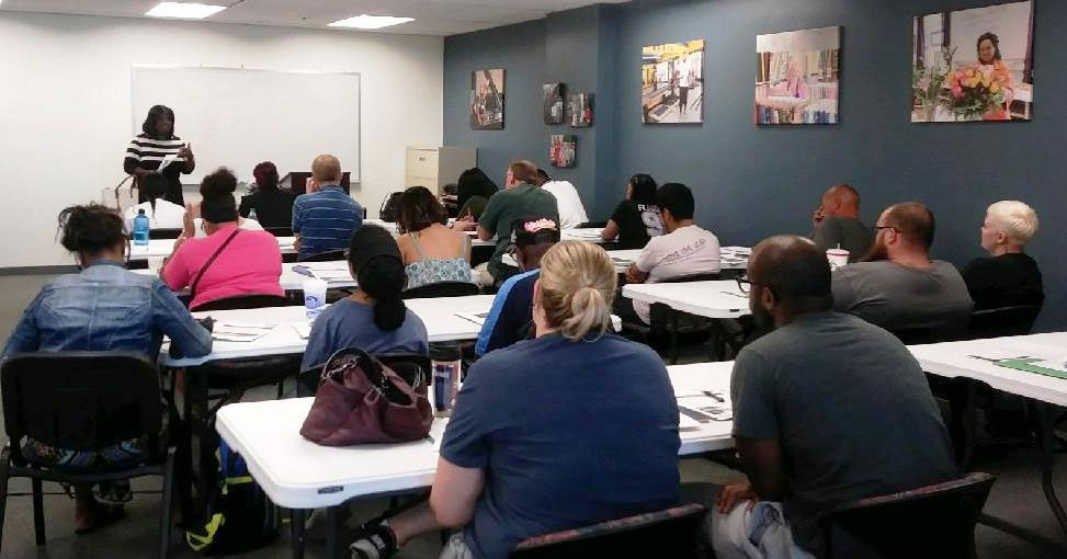 HomeWorks for Homebuyers attendees learn about obtaining an affordable mortgage.