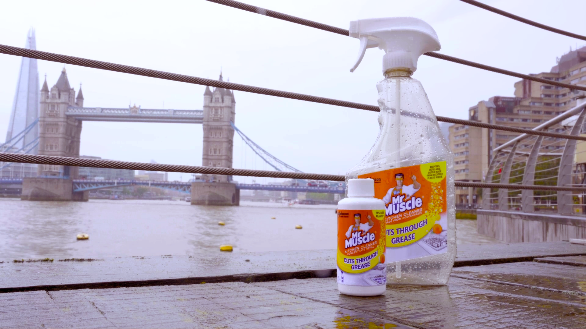 mr muscle concentrate cleaner