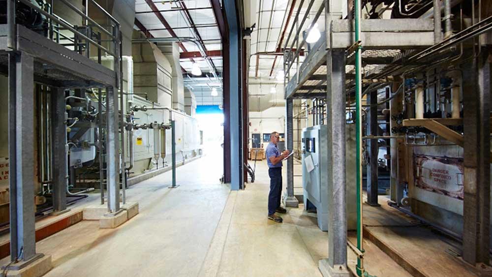 System kogeneracji energii wiatrowej SCJ Waxdale