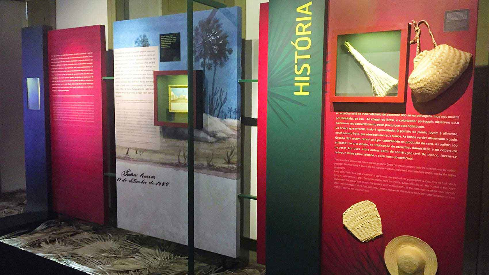 Museumsexponat in Partnerschaft mit dem Industriemuseum, dem Sozialverband und dem Industrieverband von Ceará
