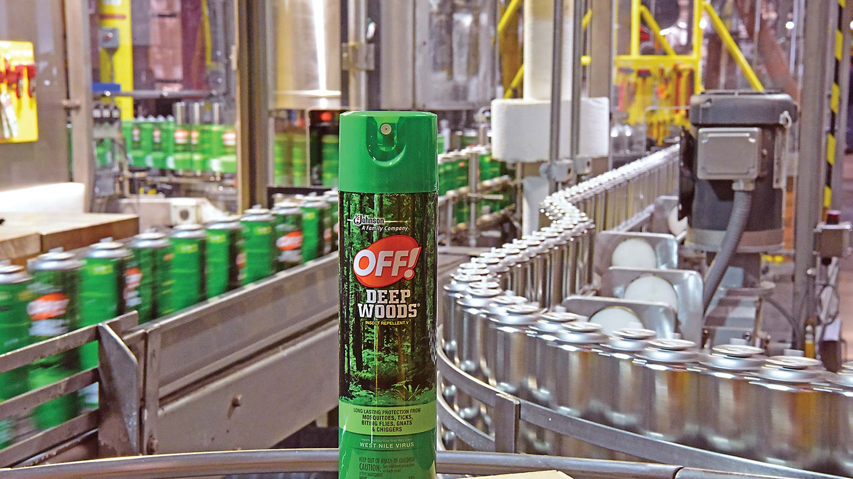 OFF di SC Johnson Spray per insetti Deep Woods