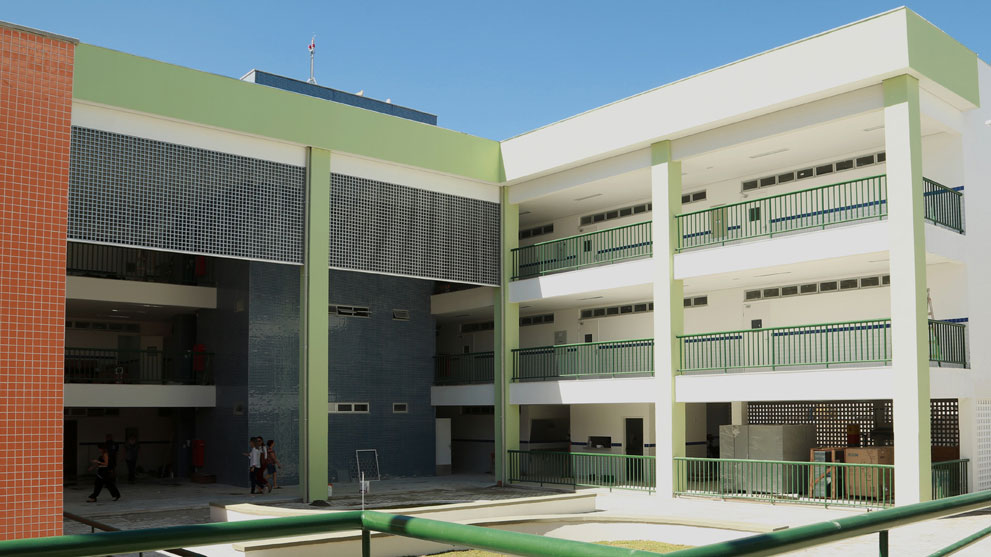 Escola Johnson à Fortaleza, au Brésil