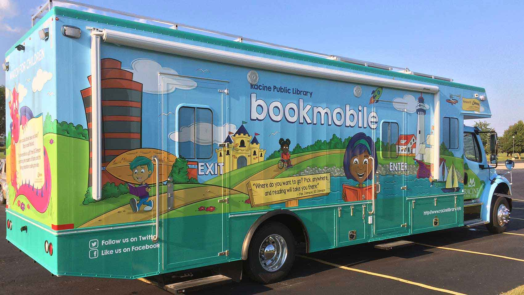 Racine Public Library Bookmobile