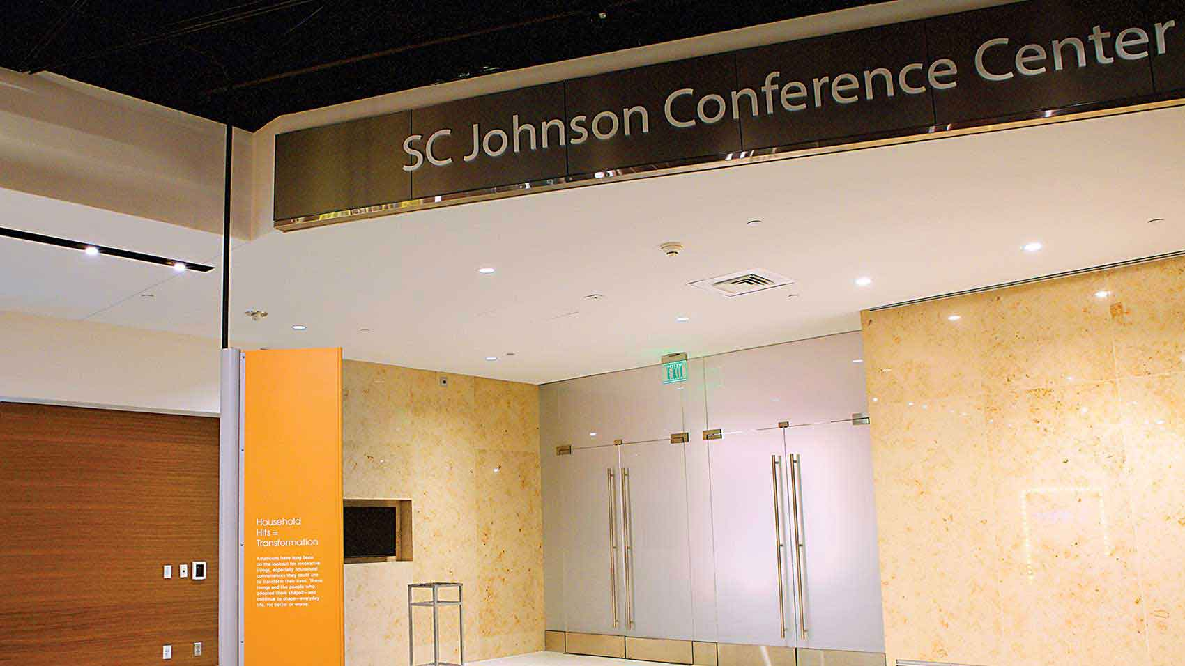 Centrum konferencyjne SC Johnson w muzeum Smithsonian