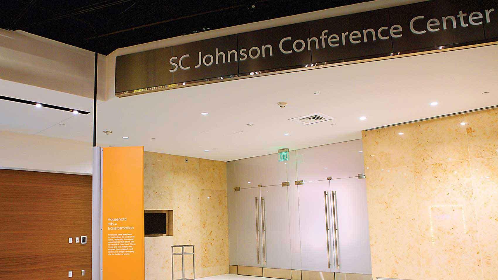 Le Centre de conférence SC Johnson au Smithsonian