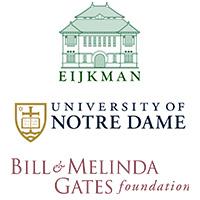 Eijkman, University of Notre Dame and Bill & Melinda Gates Foundation Logos