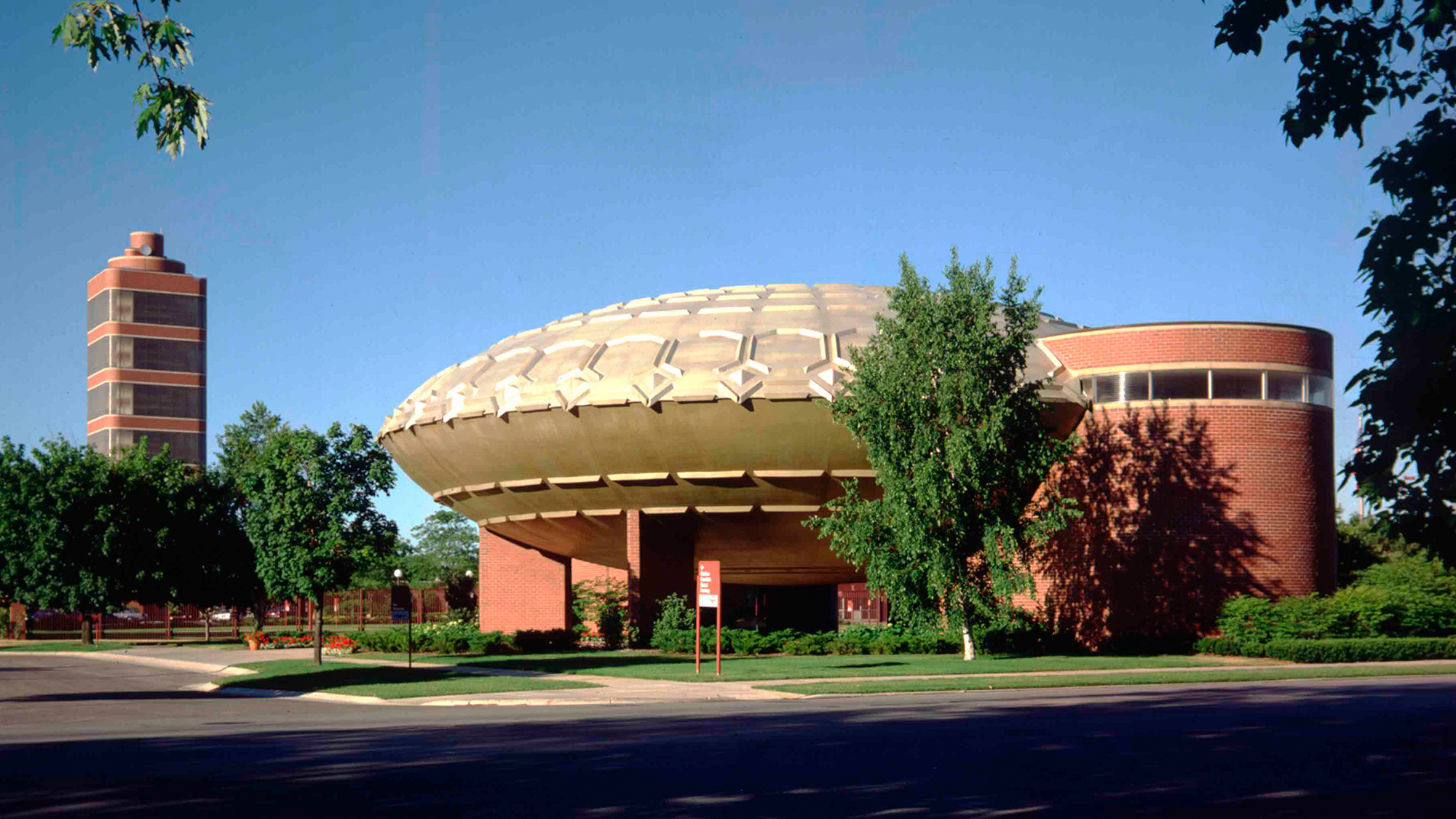 The Golden Rondelle Theatre at SC Johnson corporate headquarters
