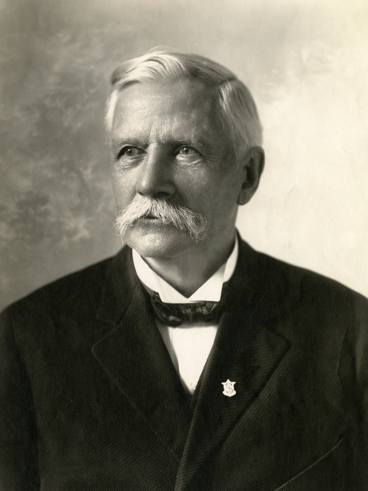 Samuel C. Johnson, first generation leader of American company, SC Johnson