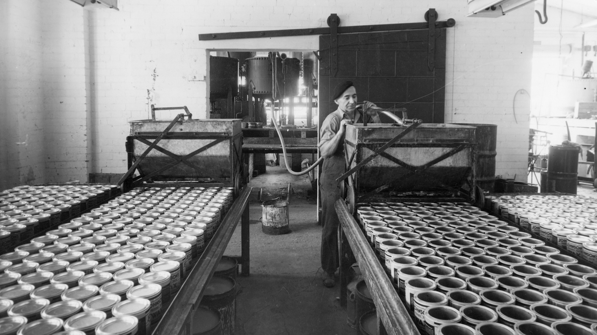 Herbert F. Johnson, padre, transformó a SC Johnson de un fabricante de cera en pasta a un líder multinacional en el cuidado del hogar
