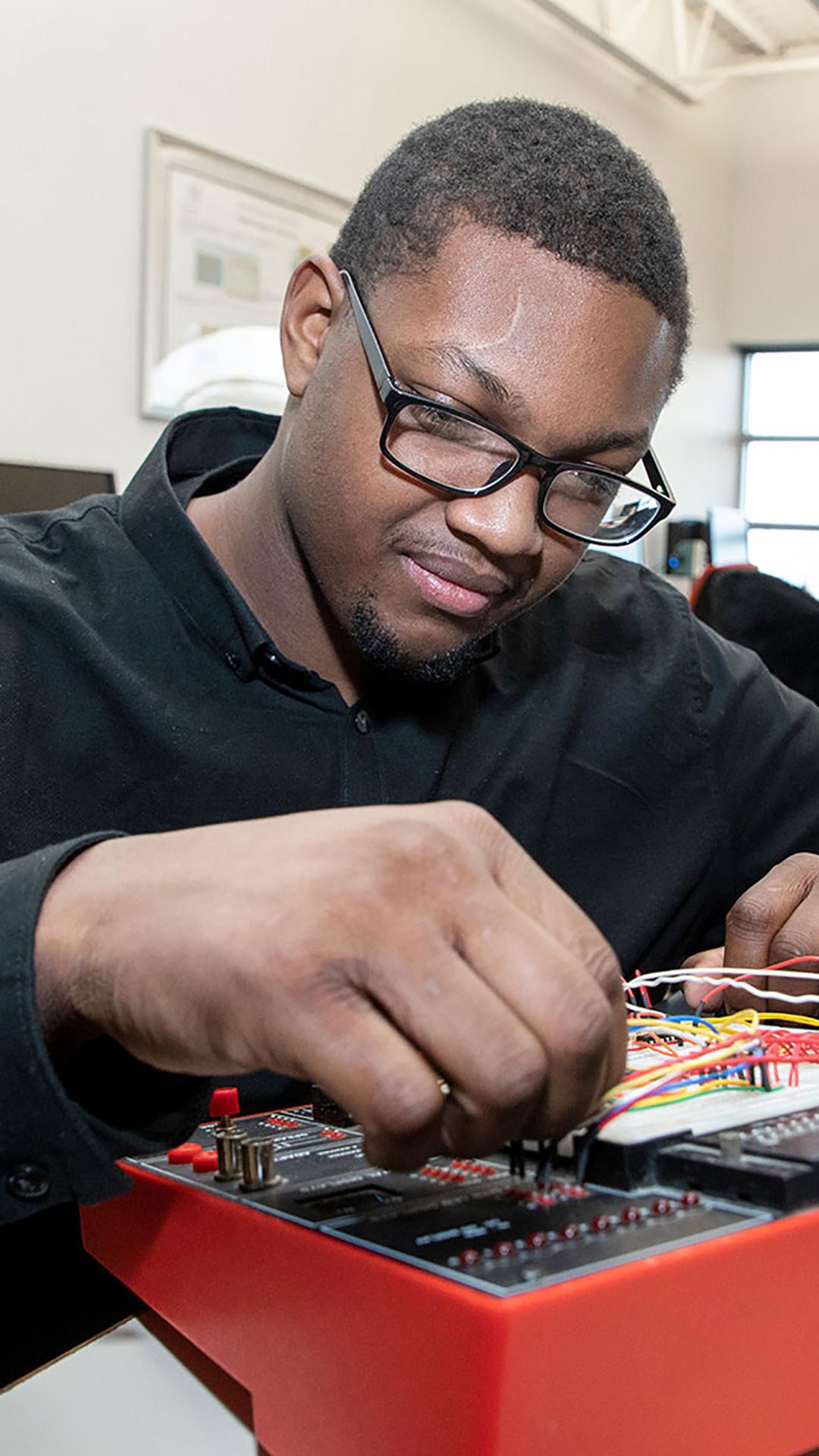 Electric Engineering Man