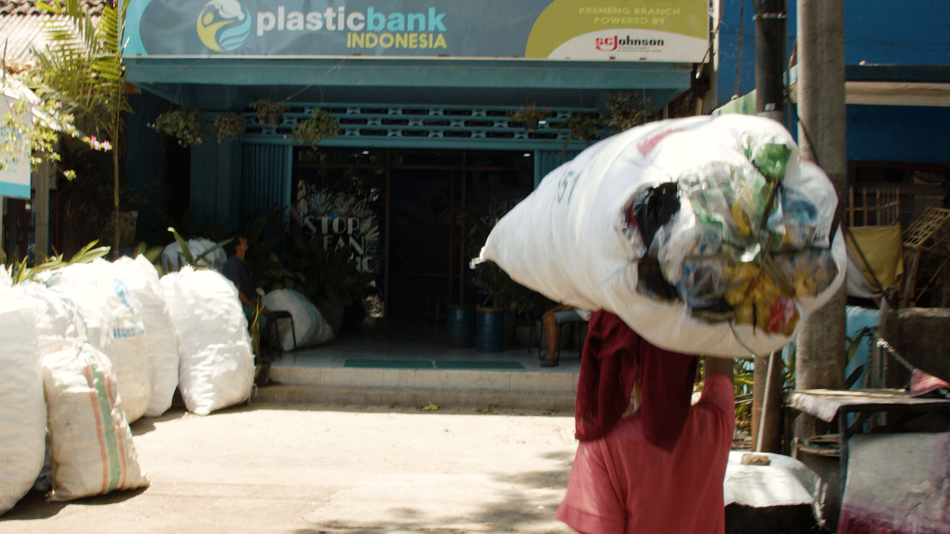 Plastic Bank collection center