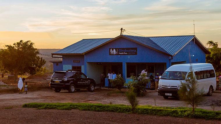 SC Johnson Rwanda Health Clinic at Sunset