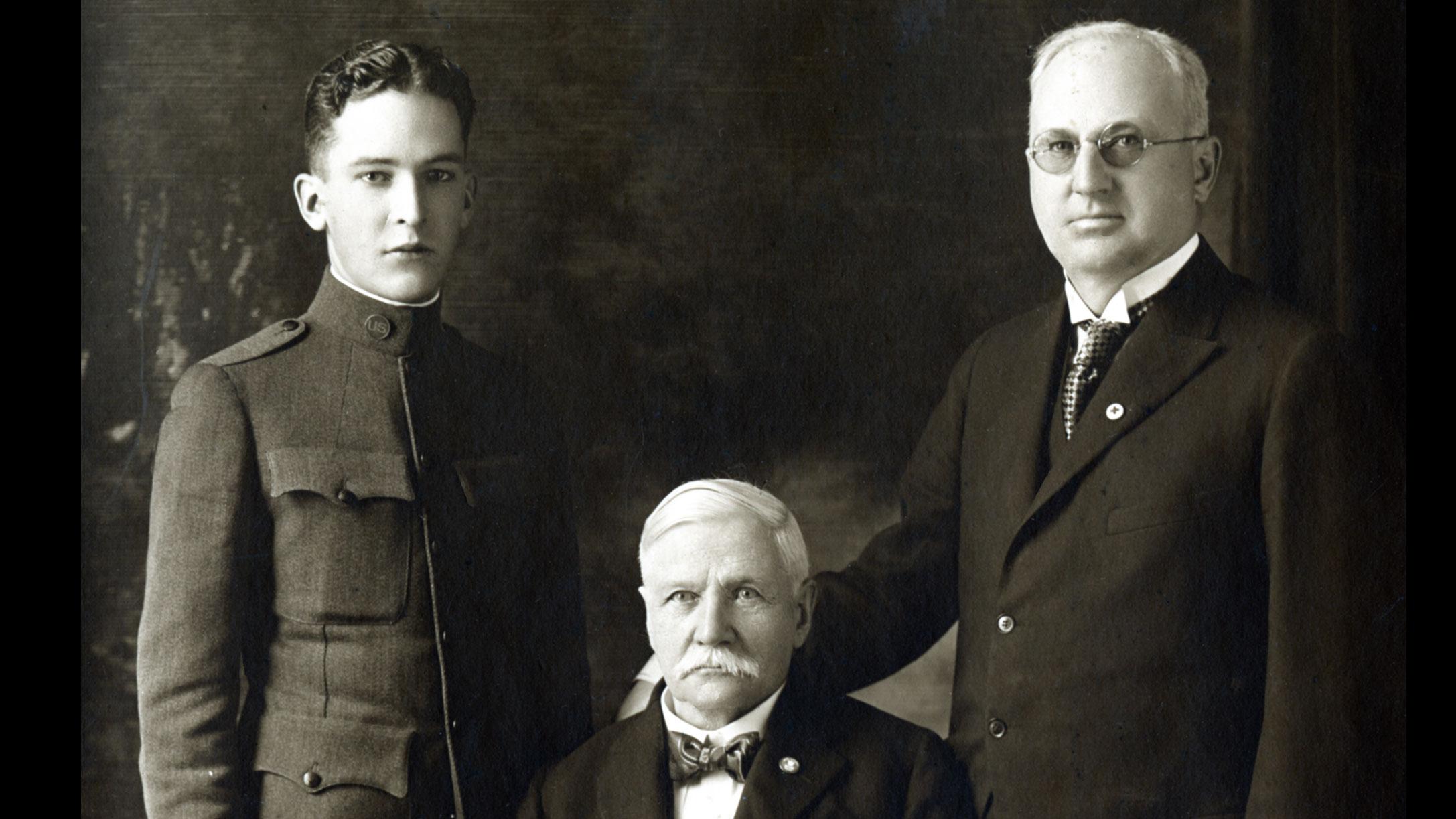 Samuel Curtis Johnson Family c. 1917