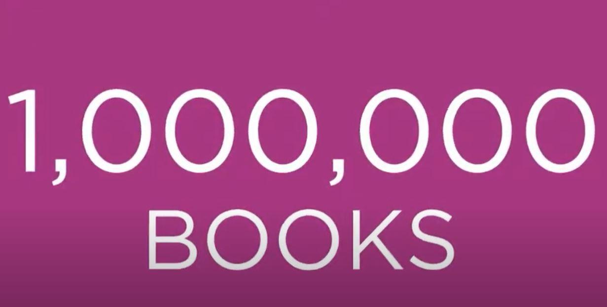 video thumbnail reading 1 million books