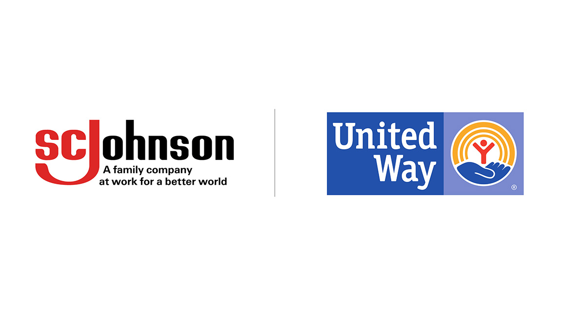 United Way and SC Johnson Logos