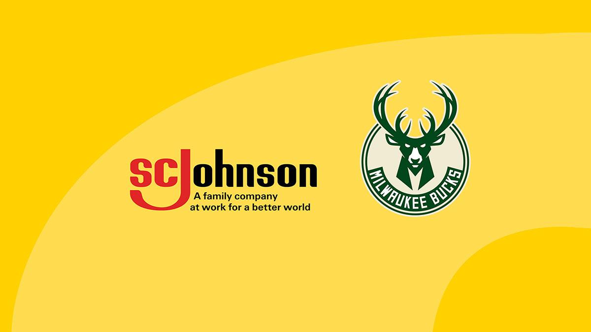 SC Johnson and the Milwaukee Bucks