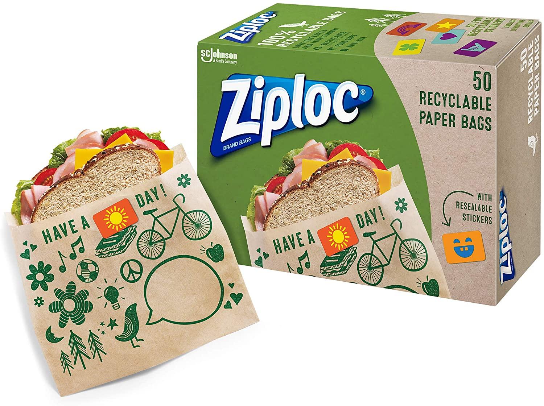 Ziploc Paper Bag